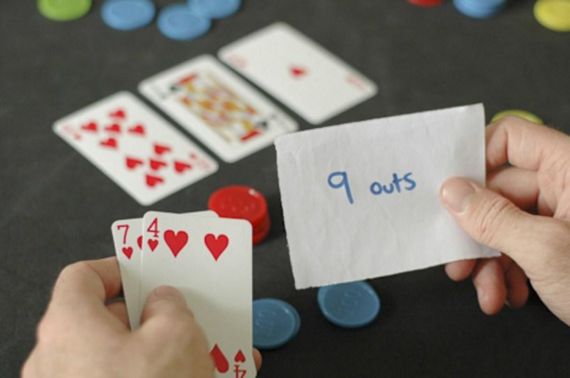 Ауты в покере: таблица Аутов и Оддсов в покере, проценты и шансы